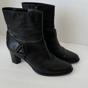 Cole Haan nikeair Black boots Sz 8